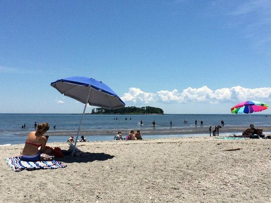 Silver Sands State Park: Charles Island