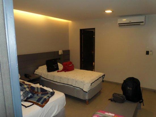 Garden Hotel: camas confortáveis
