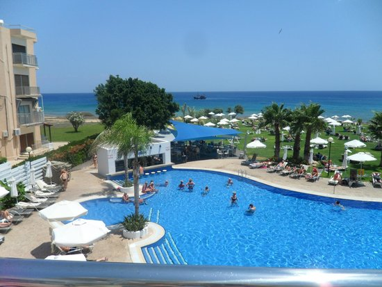 TUI SENSIMAR Sea Breeze by Atlantica: view from the terrace bar