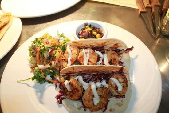 Tigh Giblin : Honey Tequila Lime Shrimp Tacos
