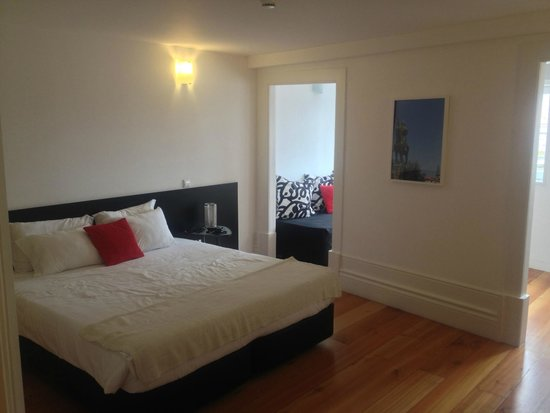 Cale Guest House: Double bed