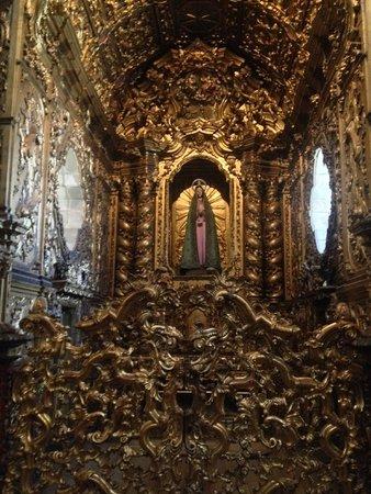 Sao Francisco Church (Igreja de S Francisco): Golden icon