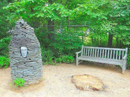 North Carolina Botanical Garden: garden art