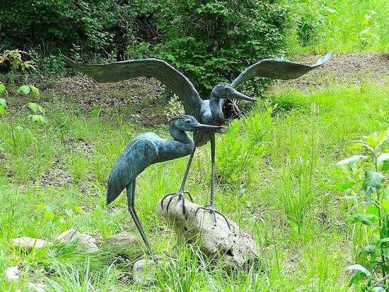 North Carolina Botanical Garden: medal sculpture