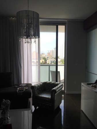 Boulan South Beach: Living room