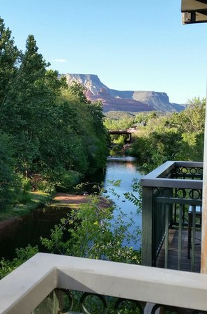 The Inn Above Oak Creek: View from our balcony!