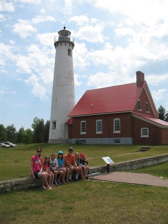Tawas Point State Park: We enjoyed the lighthouse! Gift shop was very nice!