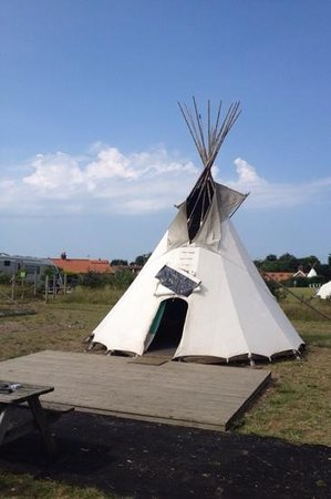 Deepdale Backpackers Hostel and Camping : tipi
