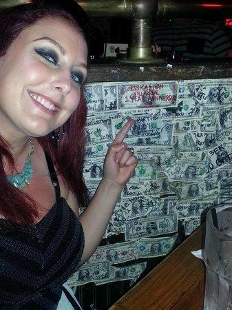 McGuire's Irish Pub: Put up our dollar