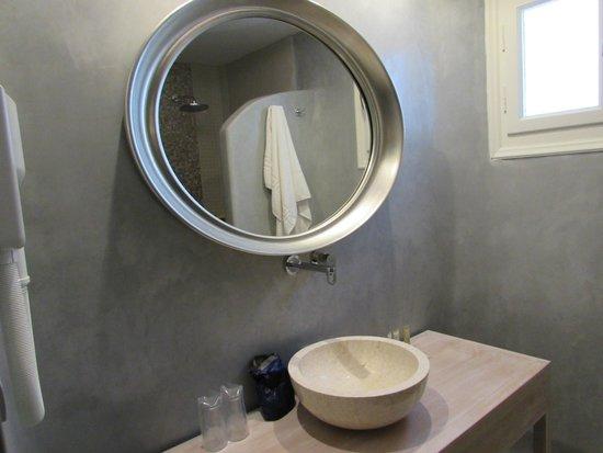 Aegean Plaza Hotel: Bagno