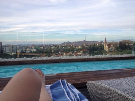Hilton Windhoek: Peça um mojito e relaxe!