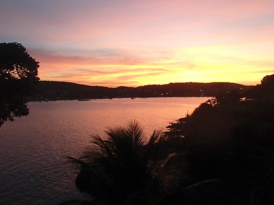 Cachoeira Inn: Sunset from room