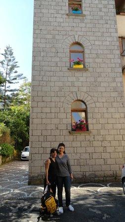 Gocce di Limone B&B Sorrento: El dia que nos fuimos, nos despide Caterina