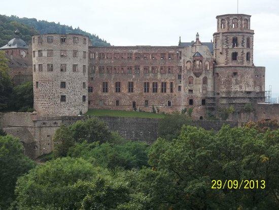 Schloss Heidelberg: vista panorâmica