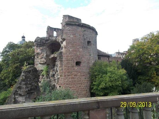 Schloss Heidelberg: ruínas