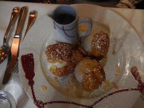 LE GRAND CAFÉ CAPUCINES - Plat du jour: poisson et risotto ...