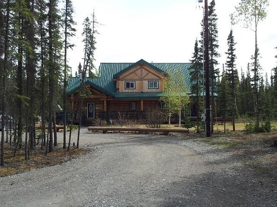 Caribou Cabins: Main house