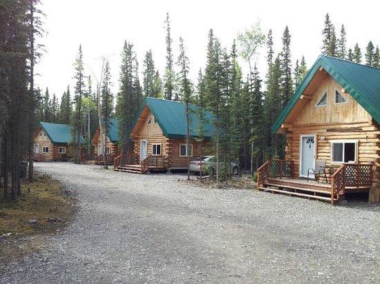 Caribou Cabins : Cabins