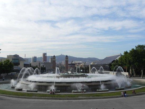 Parque de Montjuic (Parc de Montjuïc): Fonte mágica