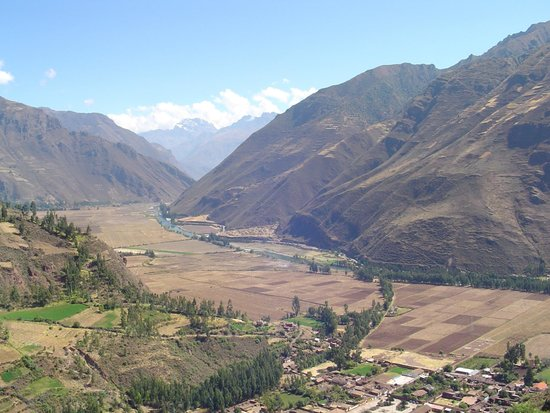 Valle Sagrado de los Incas: vista do vale