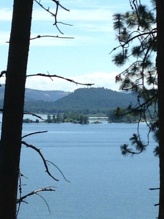 Heyburn State Park: View of Chatcolet Lake