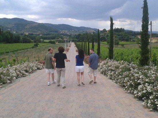 Villa Cilnia: Tour with Simone'