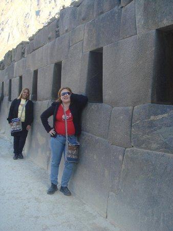 Archaeological Park Ollantaytambo: ruínas