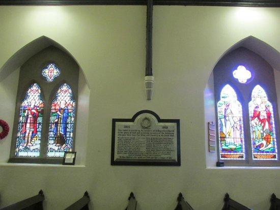 St. Augustine's Church: Memorial plaque