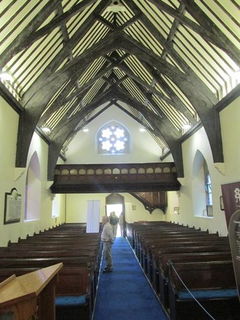 St. Augustine's Church: Interior of church