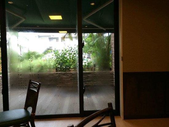 Hotel Rasso Abiyanpana Ishigaki Jima: レストランからの風景