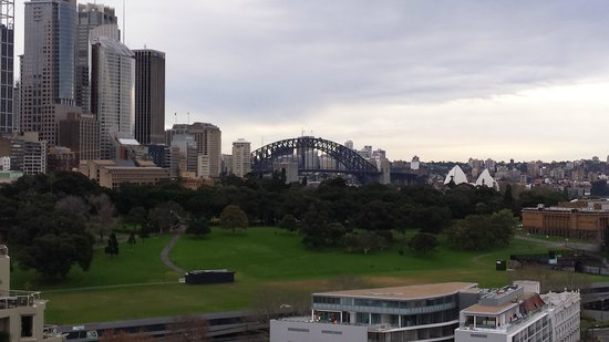 The Sydney Boulevard Hotel : The view from room 1202