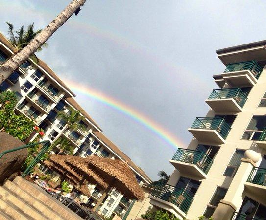 The Westin Kaanapali Ocean Resort Villas: Double rainbow