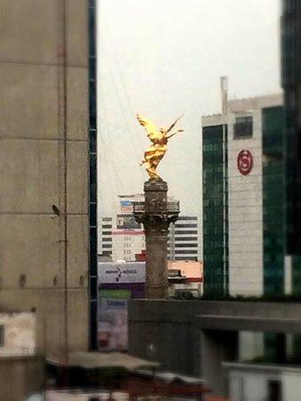Galeria Plaza Reforma: Vista desde la habitación