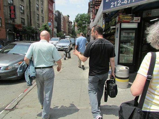 Lower East Side History Project Walking Tours: Eric guiding mafia tour