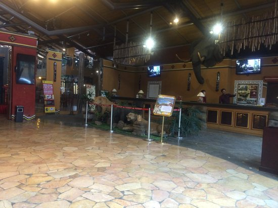 Royal Safari Garden Resort & Convention : Resepsionis