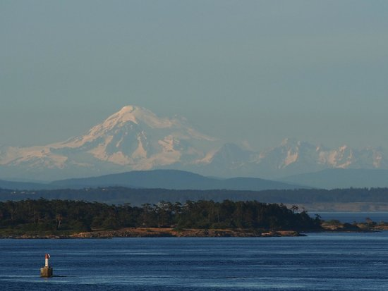 Oak Bay Beach Hotel: Mt Baker from our room