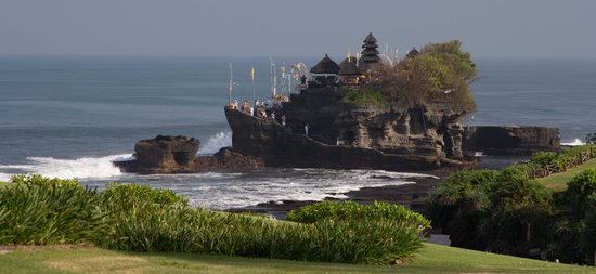 Pan Pacific Nirwana Bali Resort: Temple view