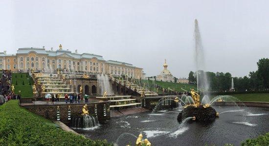 Catherine Palace and Park: Arrasou