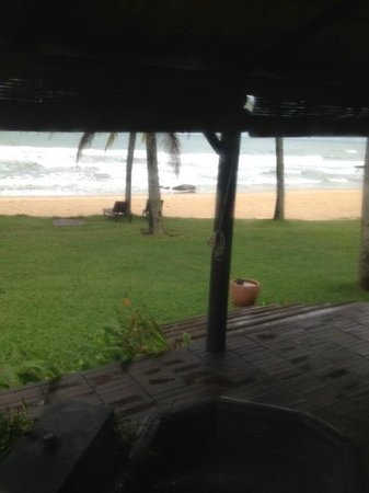 Chen Sea Resort & Spa Phu Quoc: Rainy day from our room