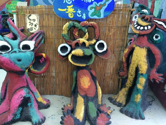 Yonekoyaki Craft Center: 店内のキムサー