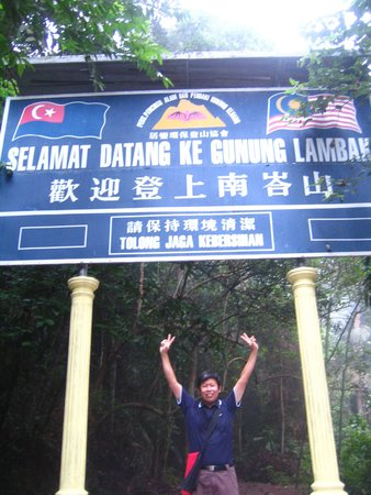 Gunung Lambak: At the half summit
