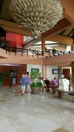 Viva Wyndham Dominicus Palace: Reception/lobby