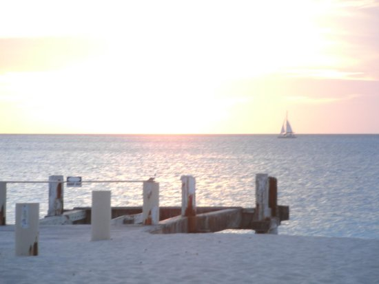 Club Med Turkoise, Turks & Caicos: Sunset from near the pool area