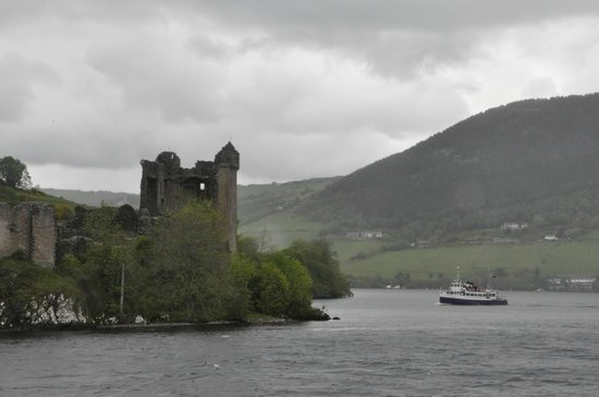 Loch Ness by Jacobite: castle