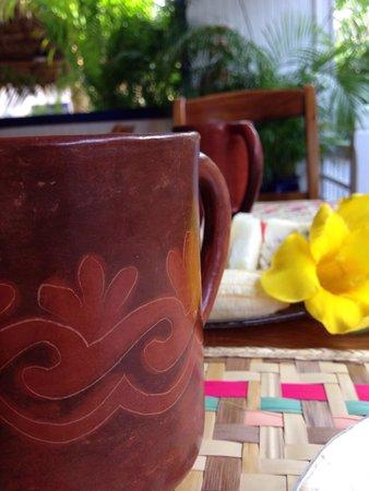 La Posada Azul: Coffee and complimentary breakfast every day!
