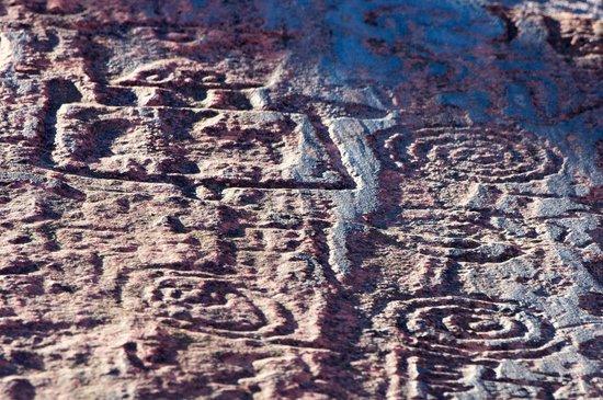 National Park Talampaya: Petroglifos