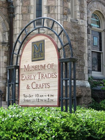 Perfect Museum Of Early Trades U0026 Crafts: Museum Sign
