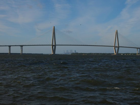 The Vendue Charleston's Art Hotel: Charleston Harbor - Ravenel Bridge