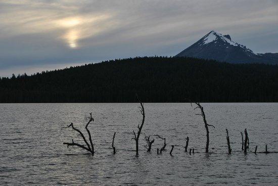 Lake of the Woods Resort: The lake @ sunset