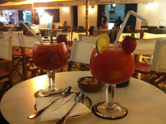 Bar La Carbonera: Caipiroskas de Fresa